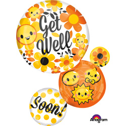 28A GET WELL BUBBLE EMOTICONS