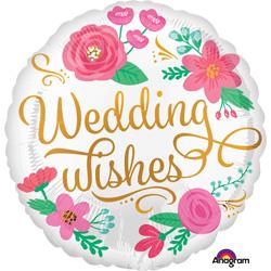 HX WEDDING WISHES GOLD SWRL