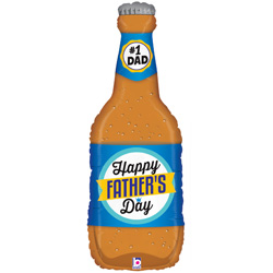 34B FATHERS DAY BEER BOTTLE