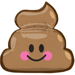 25A EMOTICON POOP