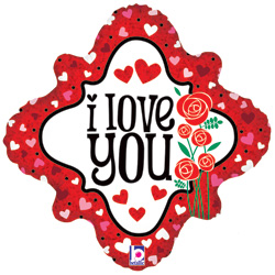 18B ILY HEARTS & ROSES DMD