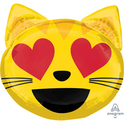 22A EMOTICON CAT LOVE