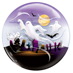 22P SPOOKY GHOSTS BUBBLE