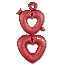 63A SATIN OPEN HEARTS M-B