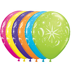11QTX SPARKLE BALLOONS (50)