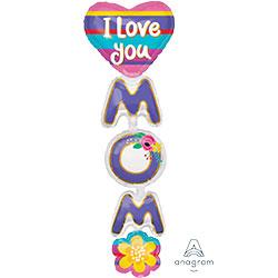 66A I LOVE YOU MOM MULTI BLN