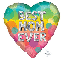 HX BEST MOM BLN LETTERS