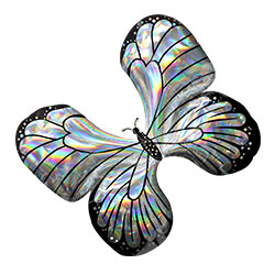 30A IRIDESCENT BUTTERFLY (HOLO