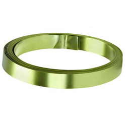 "FLT WIRE 1/2""x15ft APPLE GRN(1"