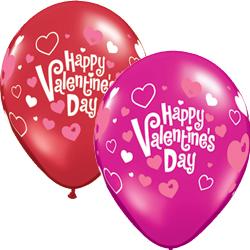 11QTX VALENTINE PINK HEART (50