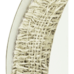 "1.5""X10YDS JUTE RIBBON OFF WHT"