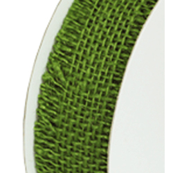 "1.5""X10YDS JUTE RIBBON MOSS"