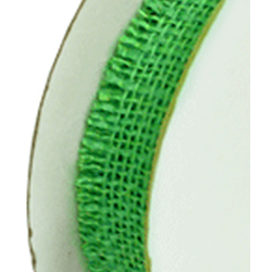 "1.5""X10YD JUTE RIBBON LIME"
