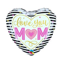 18P LOVE MOM STRIPES