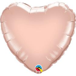 18P HEART-ROSE GOLD