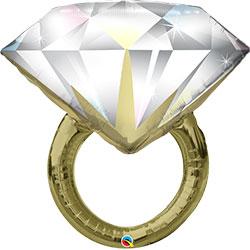 37P DIAMOND WEDDING RING