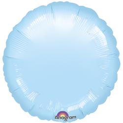 18A CIRCLE-PALE BLUE