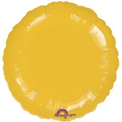 18A CIRCLE-GOLD