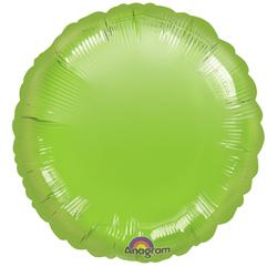 18A CIRCLE-LIME GREEN