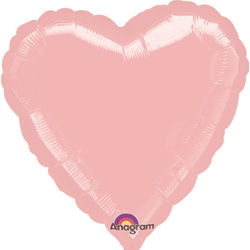 18A HEART-PASTEL PINK