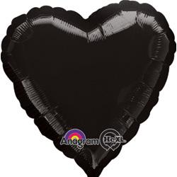 19A HEART BLACK