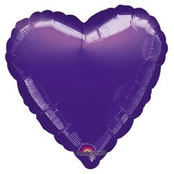 18A HEART-PURPLE