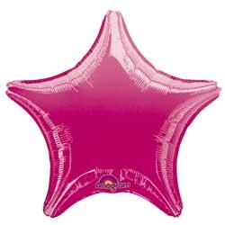 19A STAR- FUCHSIA/FUCHSIA