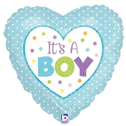 09B BABY BOY DOTS HOLO