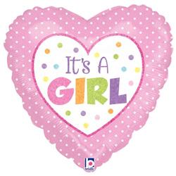 09B BABY GIRL DOTS HOLO