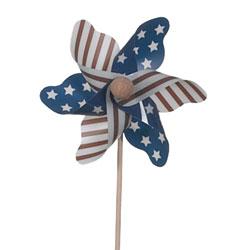 """3.5"""" USA PINWHEEL PICK (12)"""