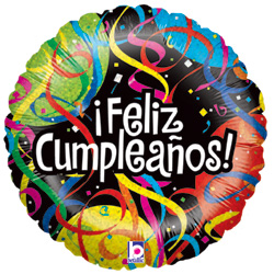 18B PARTY STREAMER CUMPLEANOS