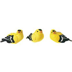 "3 X 1.25"" YELLOW BIRD (12)"