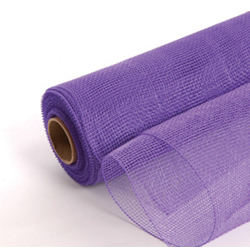 "21"" X 10 YD MESH PURPLE (1)"