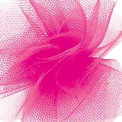 "6"" X 25 YD TULLE-HOT PINK (1)"