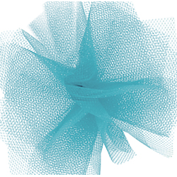 "6"" X 25 YD TULLE-TURQUOISE"