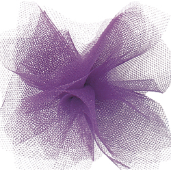 "6"" X 25 YD TULLE-PURPLE (1)"
