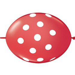 12QTX QL POLKA DOTS RED (50)