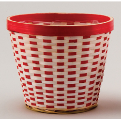 6IN RED/WHITE POTCOVER (1)