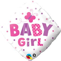 18P BABY GIRL DOTS & BTTRFLY