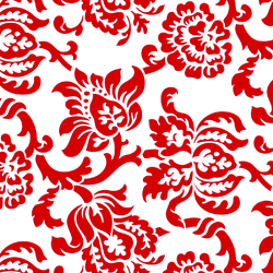 "24"" X 100' CELLO DAMASK RED"