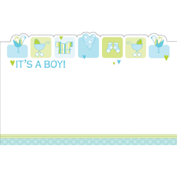 ENCL CARD ITS A BOY