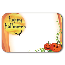 ENCL CARD HPPY HALLOWEEN(50)