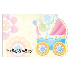 ENCL CARD -FELICIDADES BABY