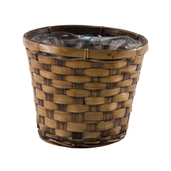"6"" DARK STAIN POT COVER (1)"